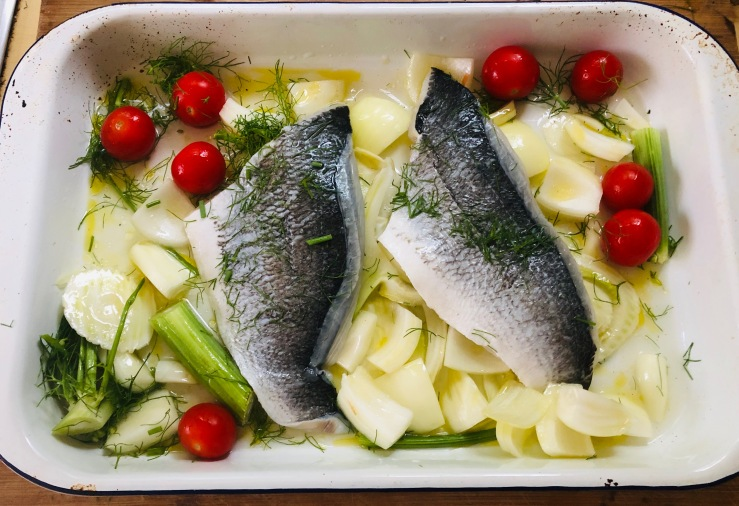 Sea Bream with Fennel