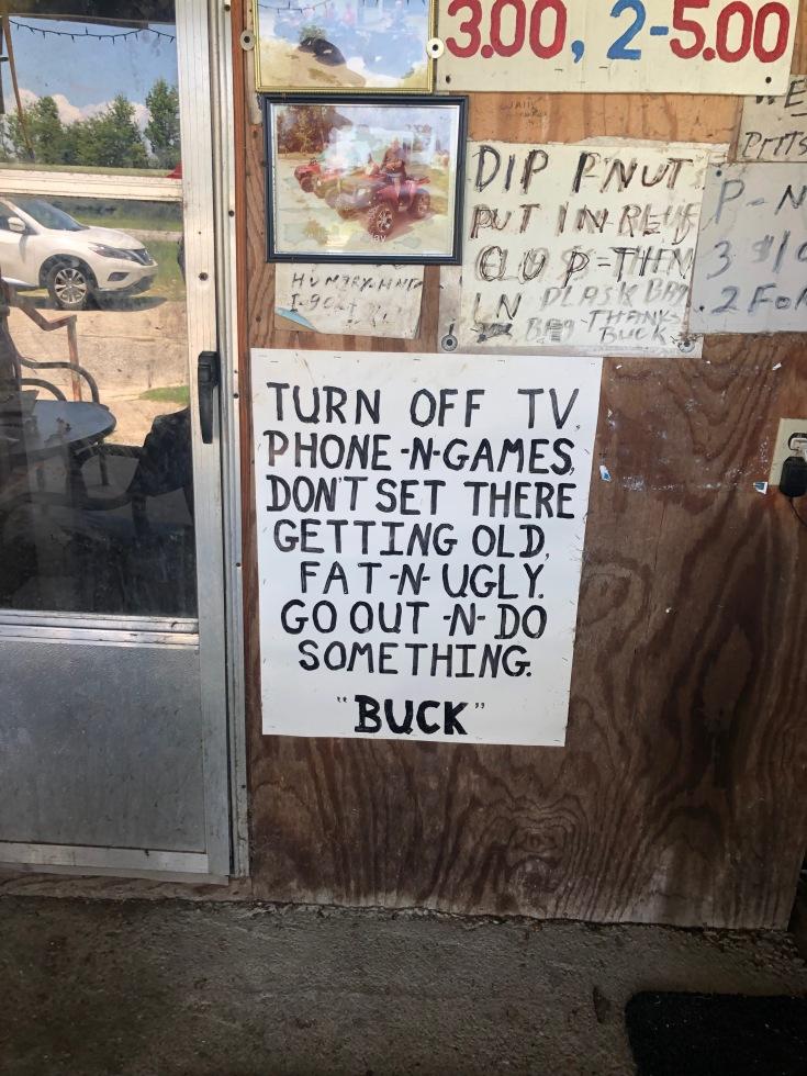 turn off TV