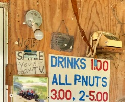 Bucks P-Nut stall